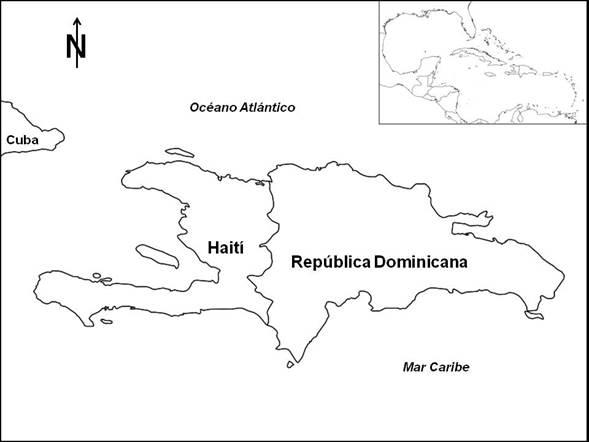 Mapa De Republica Dominicana En Blanco.State Of Knowledge Of Aquatic Macroinvertebrates Of