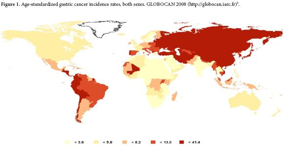 gastric cancer prevalence
