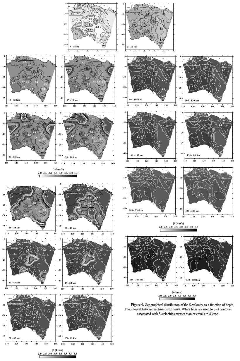 Shear-wave velocity structure of Australia from Rayleigh-wave analysis