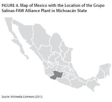Salinas Mexico Map.Building Chinese Cars In Mexico The Grupo Salinas Faw Alliance