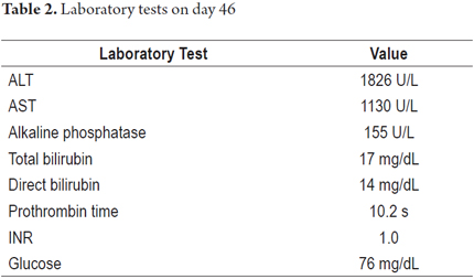 Hepatotoxicity due to Isoniazide in a Patient with Crohn's Disease