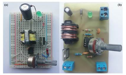Application of a direct current circuit to pick up and to